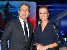 Paulina Chylewska i Maciej Orłoś fot: Ireneusz Sobieszczuk/TVP
