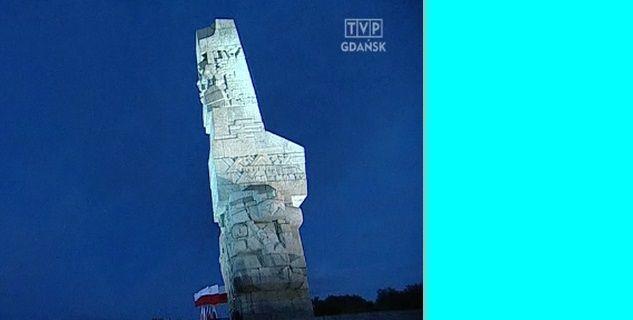 Uroczystości na Westerplatte