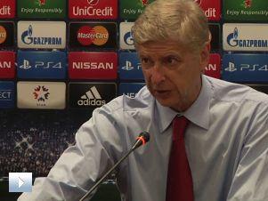 Wenger po Besiktasie: 90 minut na wysokich obrotach