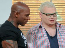 "Kenneth ""Flex"" Wheeler i Jurek Sobieniak"